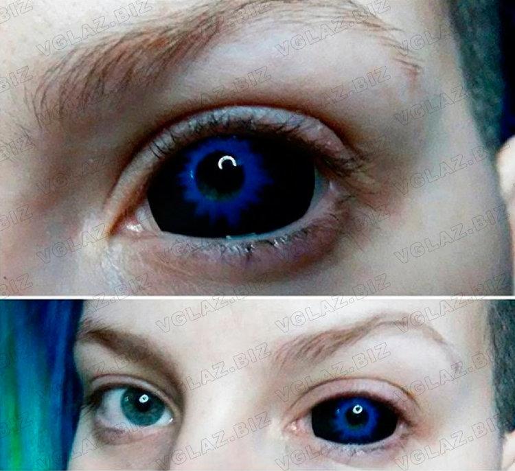 Как сделать себе чёрные глаза в жизни 168